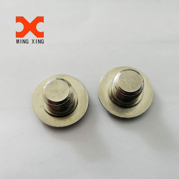 Stainless steel Cross recessed mushroom head screws