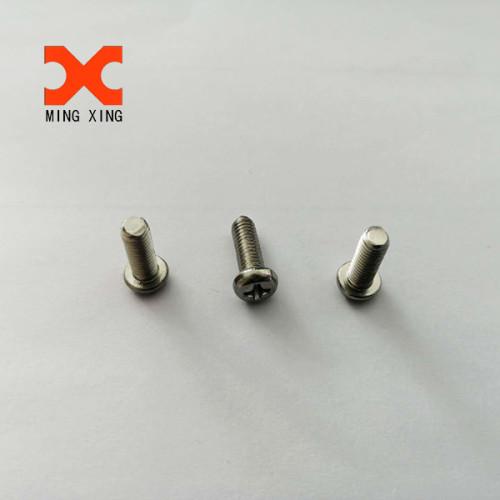 Cross recessed Pan head machine screw