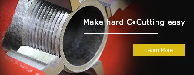 steel pipe thread cutting machine