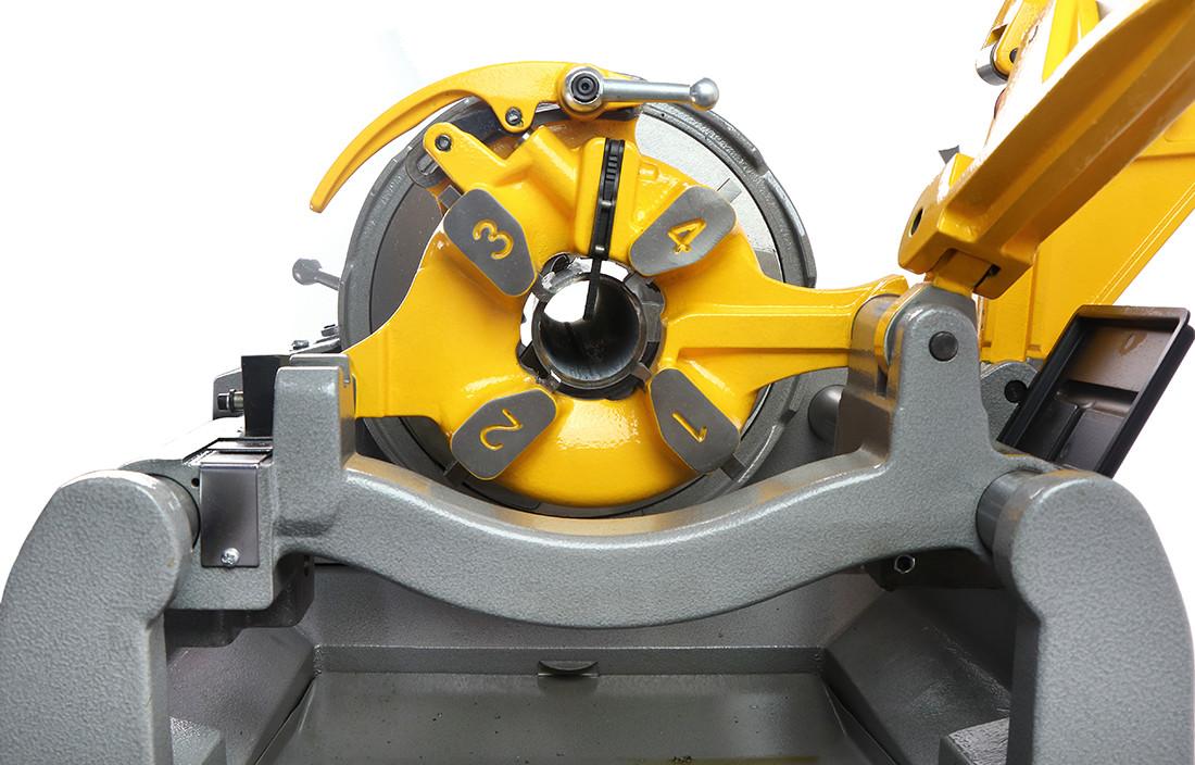 4 inch pipe threading machine details