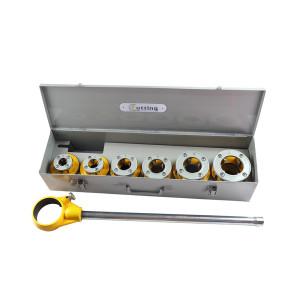 Enhebrador manual de tubos de trinquete 1 / 2-2 pulgadas 12R
