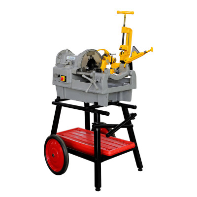 C·Cutting Heavy Duty 4 Inch Pipe Threading Machine SQ100F With 672A Stand