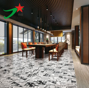 Newspaer design ceramic wall and floor tiles
