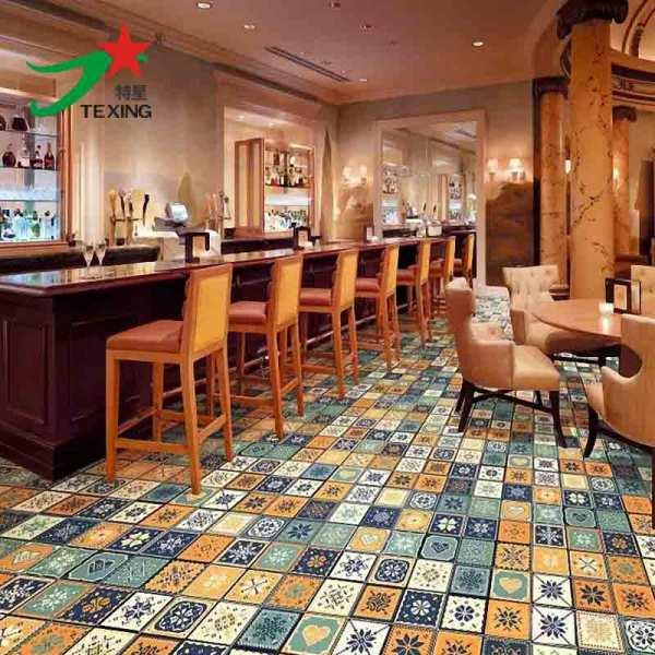 300X300 mosaic look bathroom ceramic wall and floor tiles