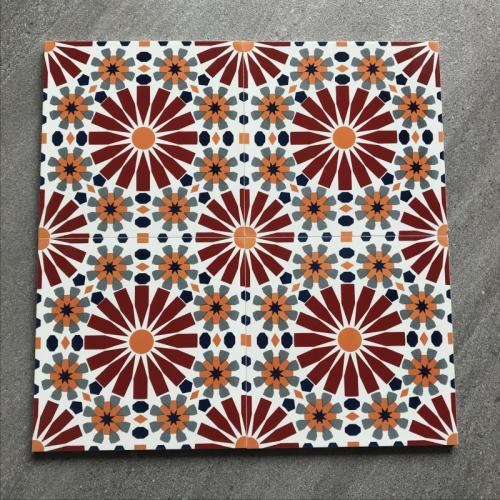 High Quality Moroccan encaustic ceramic tiles Tile in Rectified Body