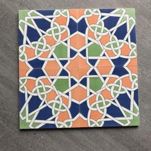 High Quality Moroccan Cement Tile in Rectified Body