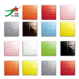 Embossed Subway tiles pure colors fashion ceramic tile 300x300