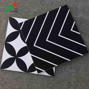 300X300 black and white color designs tiles