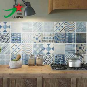 Hot sale blue matt finish floor and wall ceramic tile 300x300