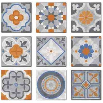 Made in China Modern designs bathroom ceramic floor tiles & wall tiles