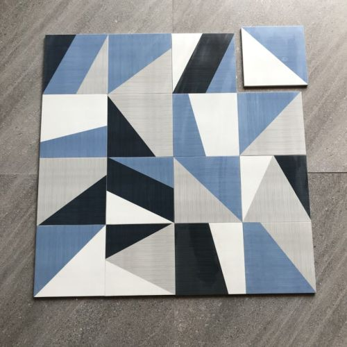 TEXING cheap moroccan tiles Blue cloth style