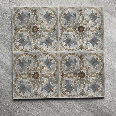 Cement look wear-resistant glazed wall and floor inkjet porcelain tiles