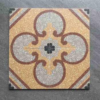Terrazzo style encaustic tiles Italian designs