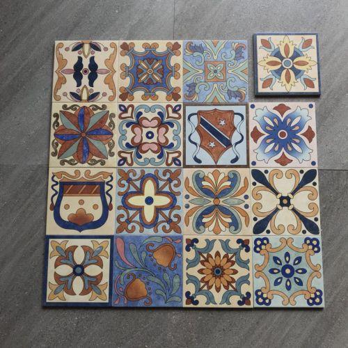 Classic style best price decorative handmade ceramic tiles