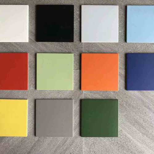 Bright colorful floor tile and multi colored porcelain tile
