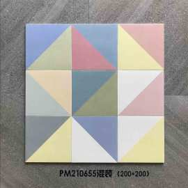 Colorful factory direct sale nursery art deco wall and floor tiles