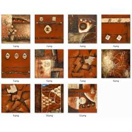 New model flooring tiles Leather style