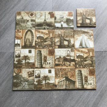Handmade Moroccan Cement Tile