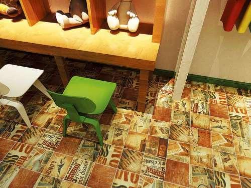 French pattern 200X200  carpet tiles