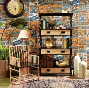 factory prices fancy  hand  painted non-slip glazed cafe Decorative Tiles
