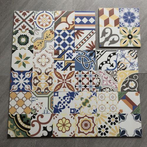 Cheap Moroccan  Antique Handmade ceramic tiles 300x300mm