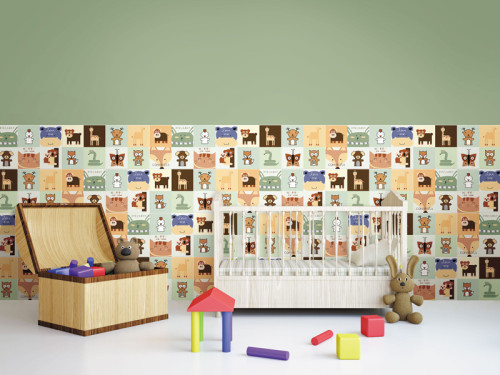 TEXING carton pattern childhood style  bedroom floor and wall tiles