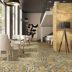 Foshan new design non slip Exterior moroccan  ceramic floor tile 300X300