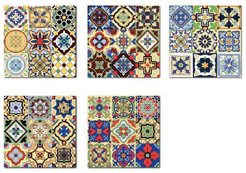 8 x 8 encuastic ceramic tiles with glossy surface