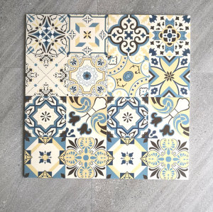 Modern bathroom design ceramic floor wall tile 300x300
