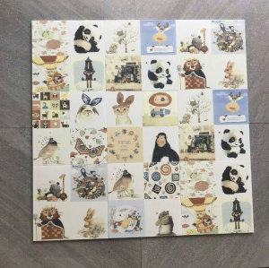 TEXING carton pattern childhood style  bedroom floor and wall tiles Foshan