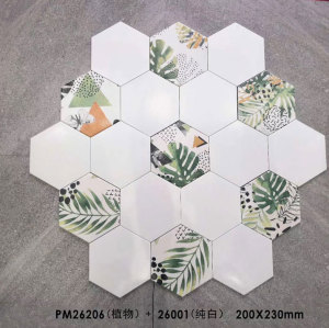 ceramic hexagon tile from China