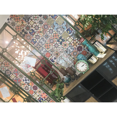 Porcelain restaurant handmade terracotta floor tiles