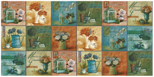 Hand Painted Moroccan Ceramic Tile from China