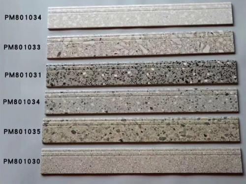 Waterproof Decorative Flooring ceramic  Skirting Moulding