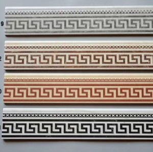 Waterproof Decorative Flooring ceramic  Skirting Moulding