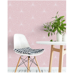 Hexagon tile with hot sale designs