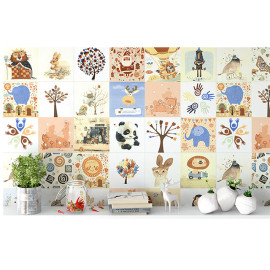 Cartoon pattern cearmic wall and floor tile