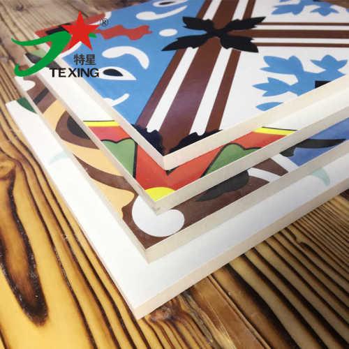 Flora design encaustic ceramic tile