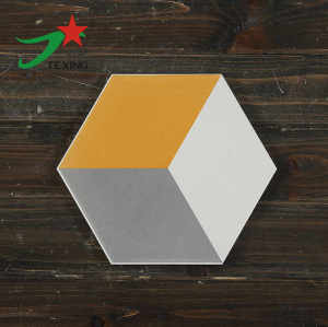 Hot sale hexagon ceramic tile