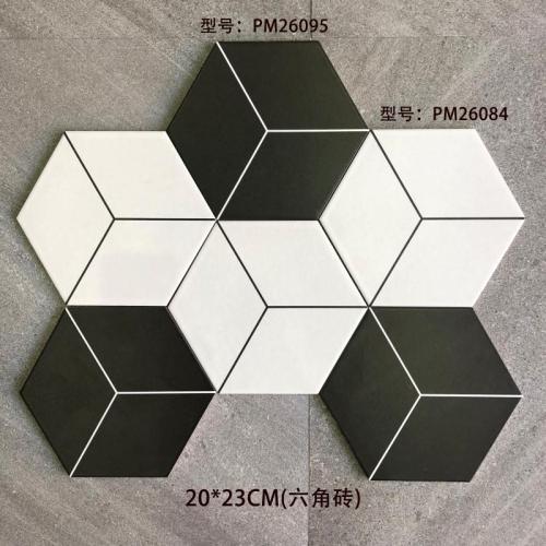 2020 elegant design hexagon floor tiles