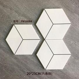 2020 elegant design hexagon floor tiles
