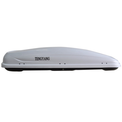 DC-001 White roof box with roof box bag set