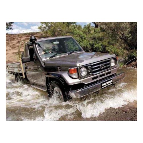 Toyota Landcruiser 71, 73, 75, 78 & 79 Series Narrow Front Landcruiser snorkel(separated)