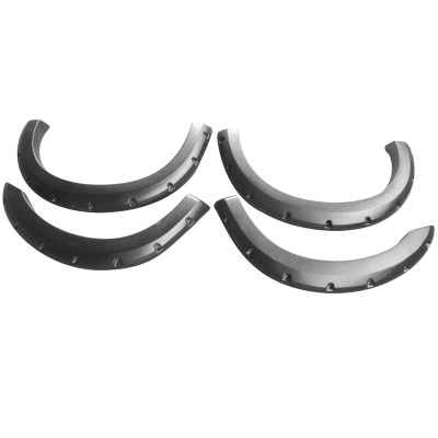 Pocket-Riveted Smooth fender flares for 1999-2007 ford F 250 F 350