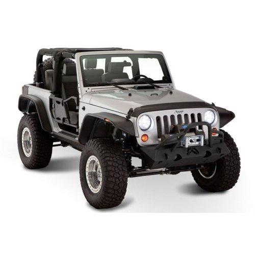 2007-2018 JK/JKU Jeep Wrangler Fender Flares