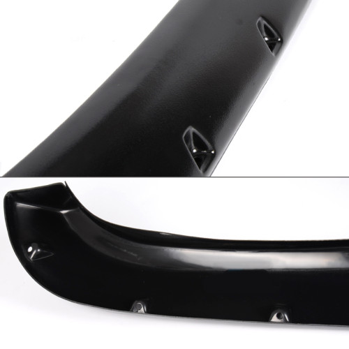 Black Pocket Rivet Style Fender Flare Set for 1994-2001 Dodge Ram 1500 1994-2002 Ram 2500 3500