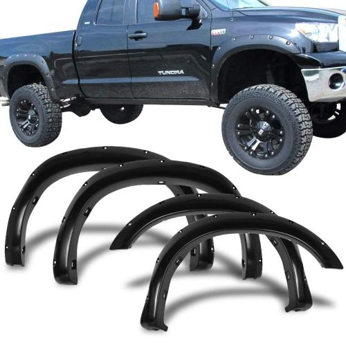 New EGR Truck Fender Flares Set of 4 for 2007 - 2013 Toyota Tundra Part