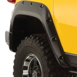 Fender Flares for FJ CRUISER 2007-2017 Black Fender Flares Pocket Style