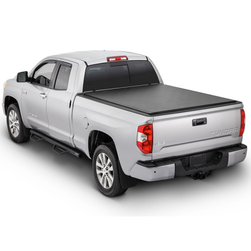 Roll Up Soft Tonneau Cover 2007-2017 Toyota Tundra 5.5ft Truck Bed Covers Roll Up Tonneau Cover