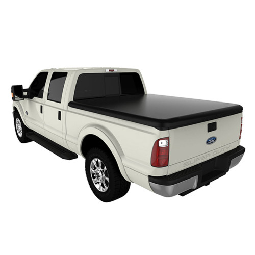 Soft Roll Up Tonneau Cover 1999-2018 Ford F250 F350 6.5ft Pickup Truck Bed Covers Roll Up Tonneau Cover